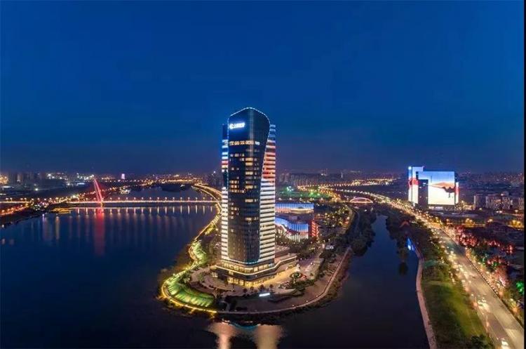 西安锦江国际酒店)   在灞河左岸   规划建设9家高品质酒店   华海